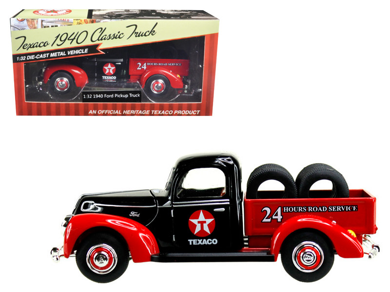 1940 Ford Pickup Truck Texaco with Tires 1/32 Diecast Model Car Beyond Infinity 0612