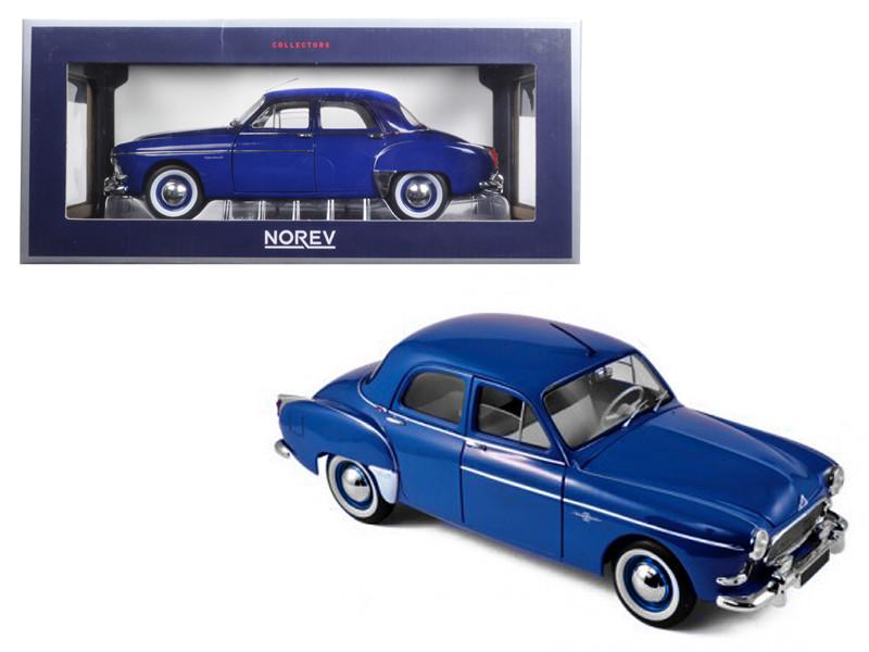1959 Renault Fregate Capri Blue 1/18 Diecast Model Car Norev 185280