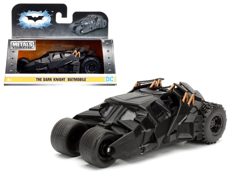 2008 The Dark Knight Tumbler Batmobile 1/32 Diecast Model Car Jada 98232