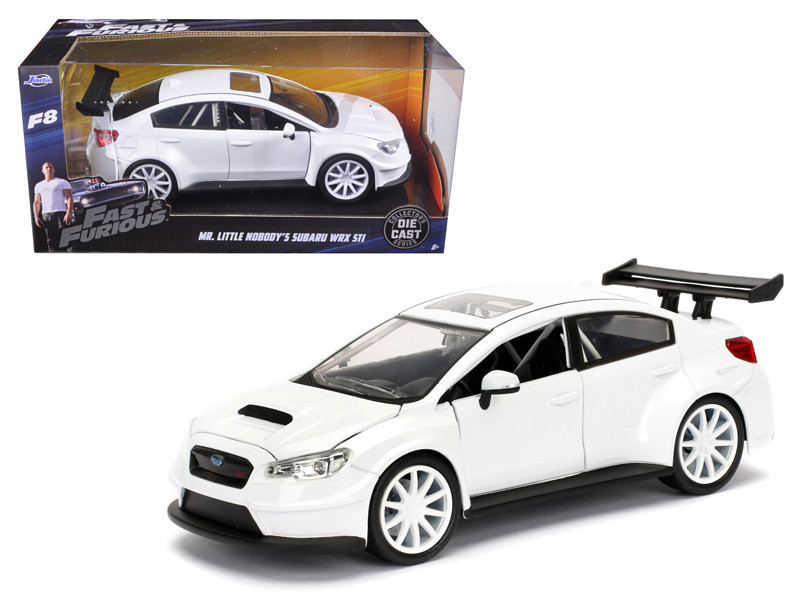 Mr Little Nobody's Subaru WRX STI Fast & Furious F8 Movie 1/24 Diecast Model Car Jada 98296