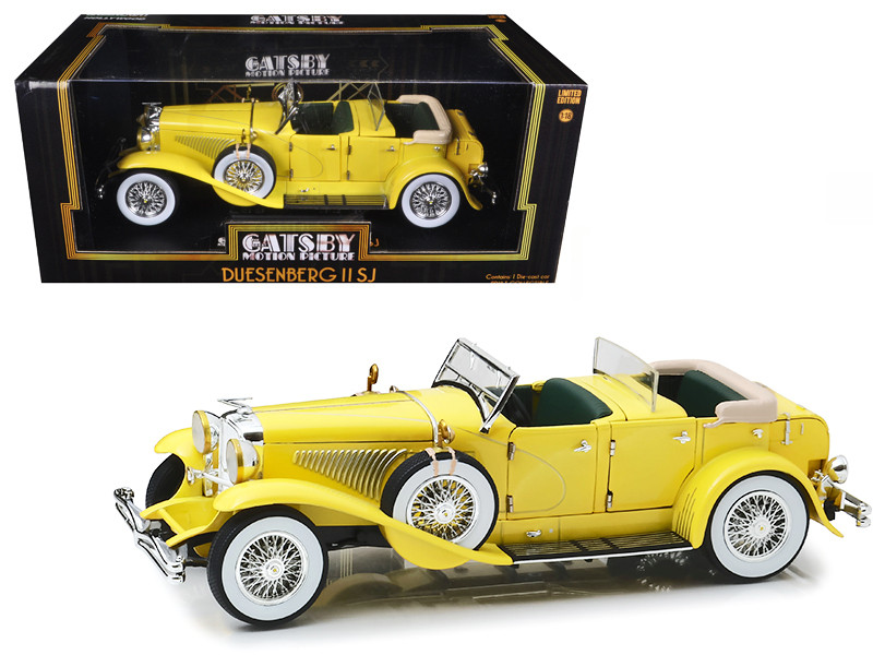 1934 Duesenberg II SJ The Great Gatsby Movie 2013 1/18 Diecast Model Car Greenlight 12927