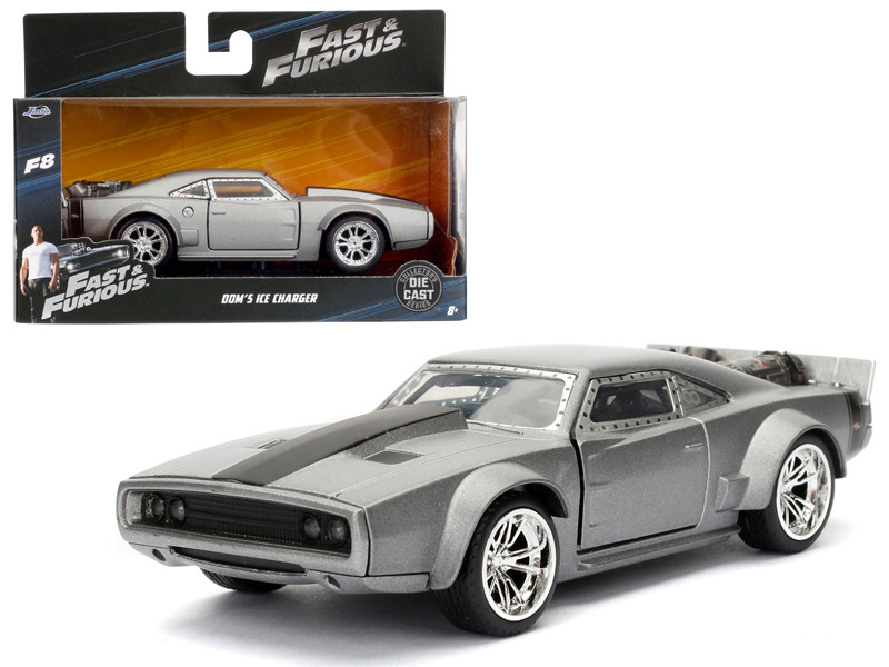 Dom's Ice Charger Fast & Furious F8 The Fate of the Furious Movie 1/32 Diecast Model Car Jada 98299