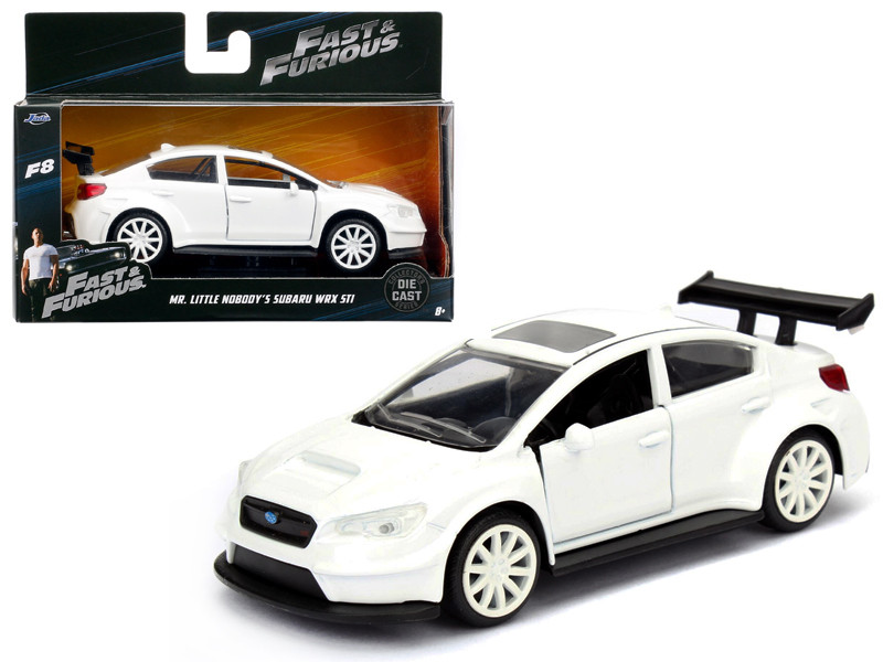 Mr Little Nobody's Subaru WRX STI Fast & Furious F8 The Fate of the Furious Movie 1/32 Diecast Model Car Jada 98305
