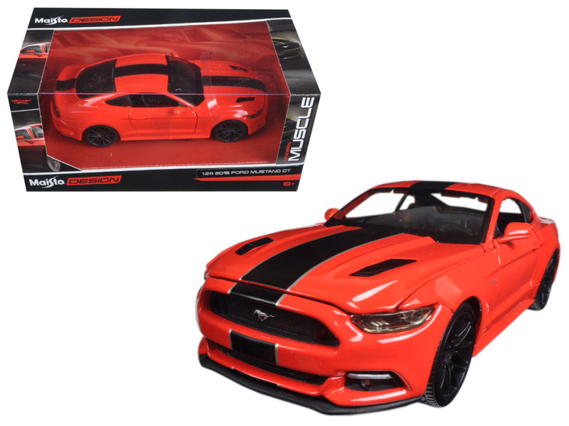 2015 Ford Mustang GT Red Classic Muscle 1/24 Diecast Model Car Maisto 31369