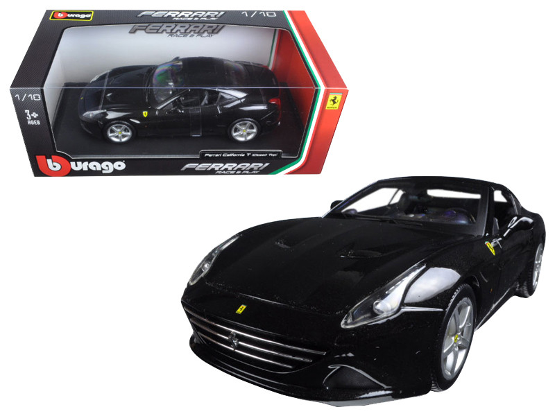 Ferrari California T closed top Black 1/18 Diecast Model Car Bburago 16003