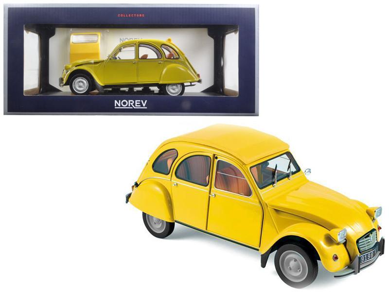 1979 Citroen 2CV 6 Club Mimosa Yellow 1/18 Diecast Model Car Norev 181496