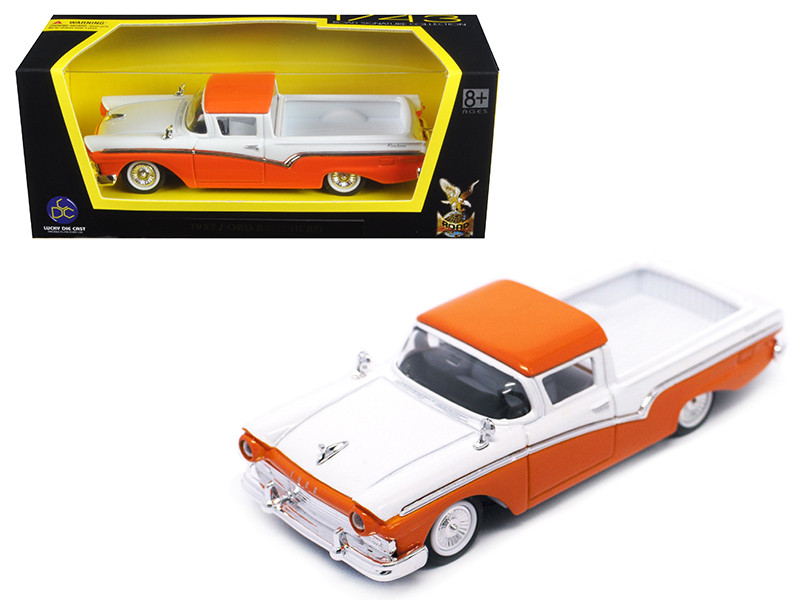 1957 Ford Ranchero Orange 1/43 Diecast Model Car Road Signature 94215