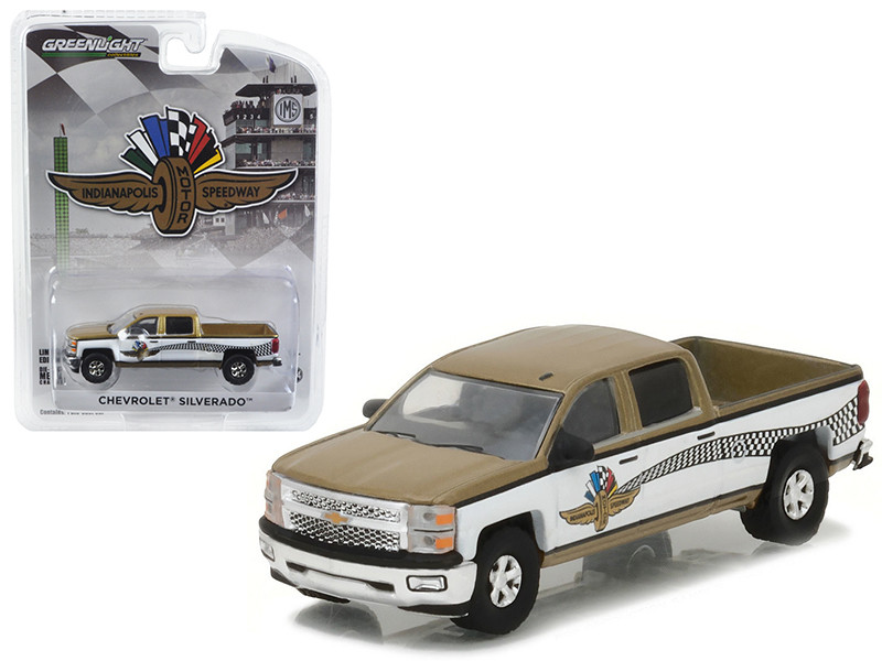 2015 Chevrolet Silverado Indianapolis Motor Speedway IMS Pickup Truck Hobby Exclusive 1/64 Diecast Model Car Greenlight 29902