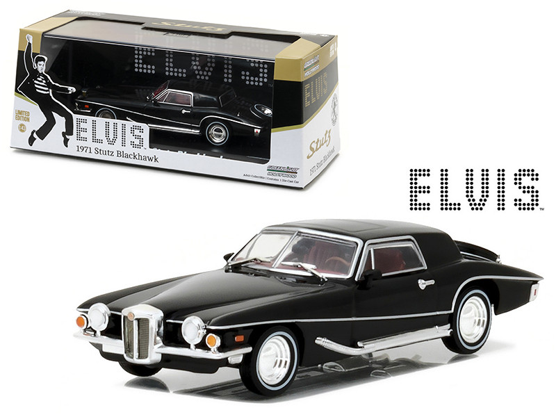 1971 Stutz Blackhawk Elvis Presley 1935-1977 1/43 Diecast Model Car Greenlight 86503