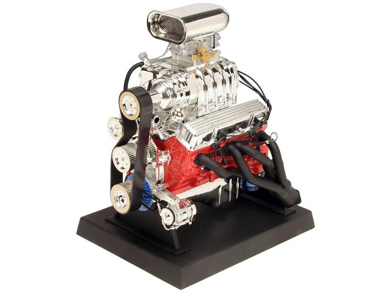 Engine Chevrolet Blown Hot Rod 1/6 Diecast Replica Model Liberty Classics 84035