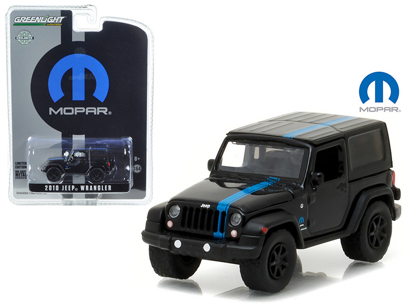 2010 Jeep Wrangler MOPAR Edition Hobby Exclusive 1/64 Diecast Model Car Greenlight 29886
