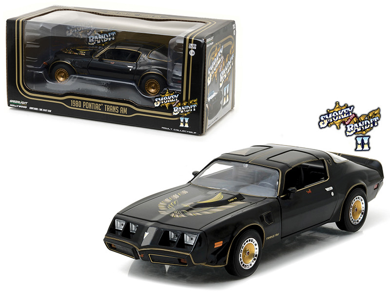 1980 Pontiac Trans Am Smokey And The Bandit 2 Movie Car 1/24 Diecast Model Car Greenlight 84031