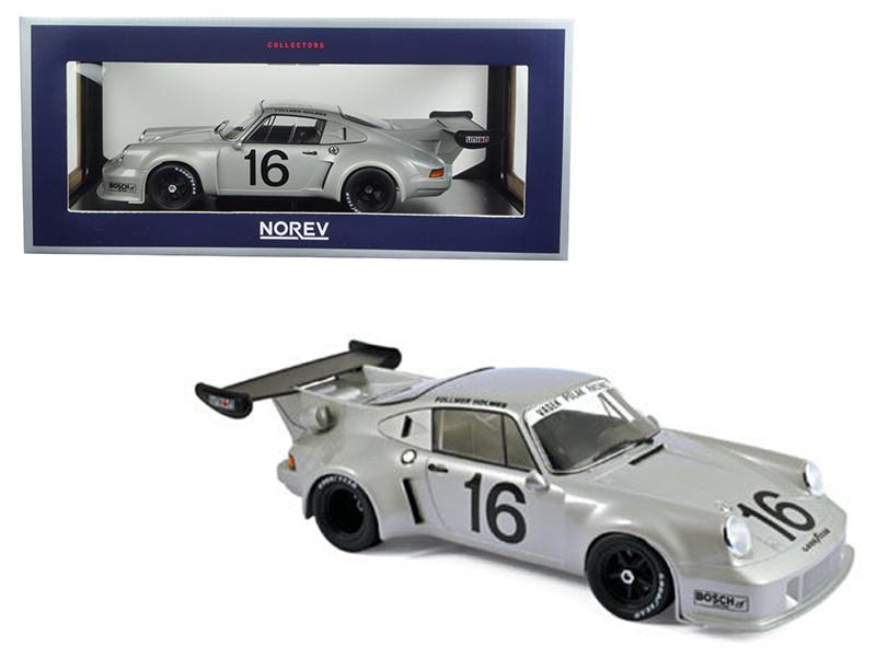 Porsche 911 RSR Turbo #16 Mid-Ohio 3 Hours 1977 Follmer Holmes 1/18 Diecast Model Car Norev 187427
