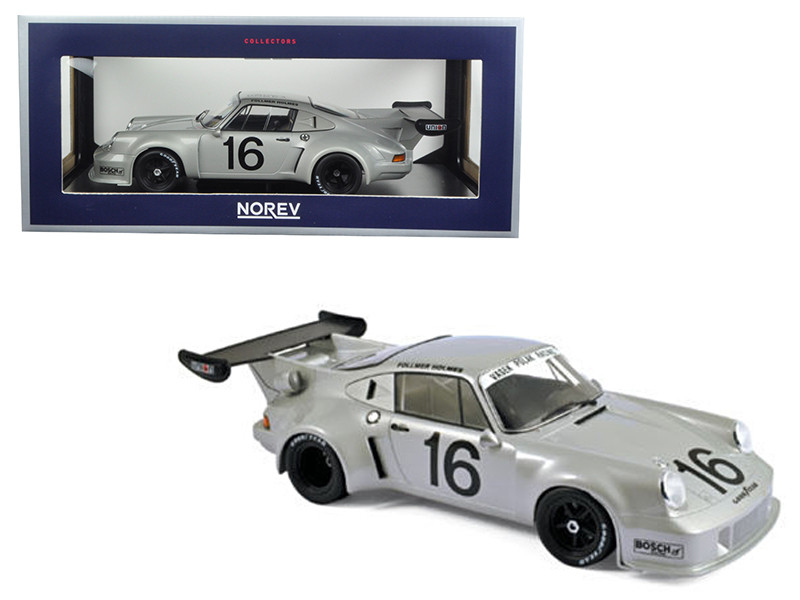 Porsche 911 RSR Turbo #16 Mid-Ohio 3 Hours 1977 Follmer Holmes 1/18 Diecast Model Car Norev 187427