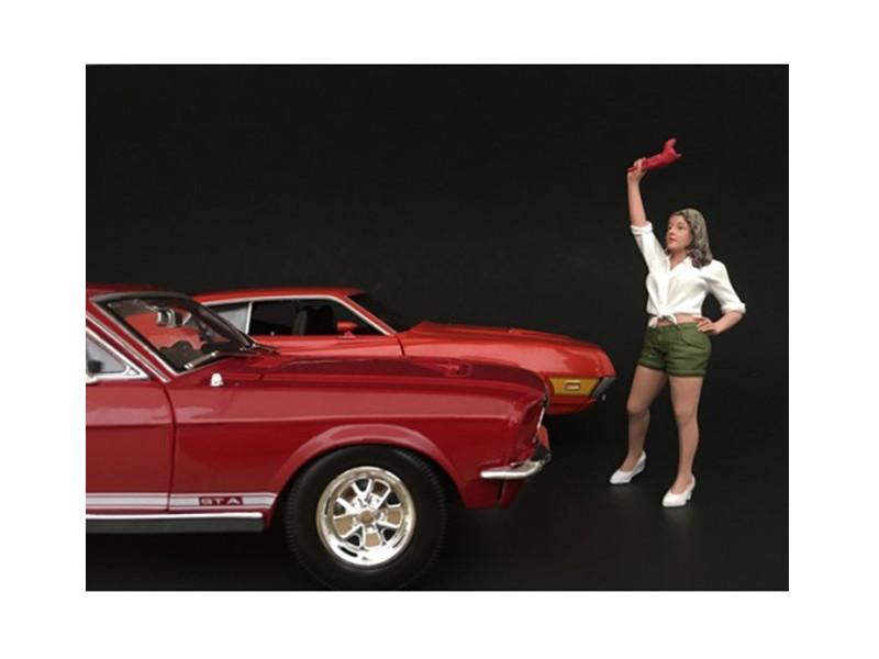 70's Style Figure II For 1:24 Scale Models American Diorama 77502
