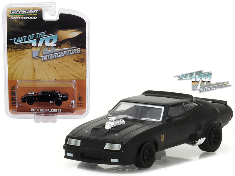 1973 Ford Falcon XB Last of the V8 Interceptors Movie 1979 Hollywood Series 17 1/64 Diecast Model Car Greenlight 44770 A