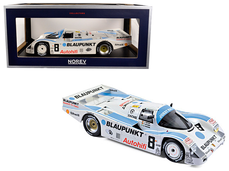 1988 Porsche 962 C #8 3rd Place LeMans Winter Jelinski Dickens 1/18 Diecast Model Car Norev 187410