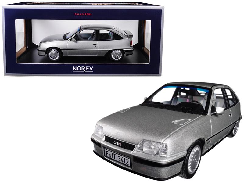 1987 Opel Kadett GSI Silver 1/18 Diecast Model Car Norev 183613