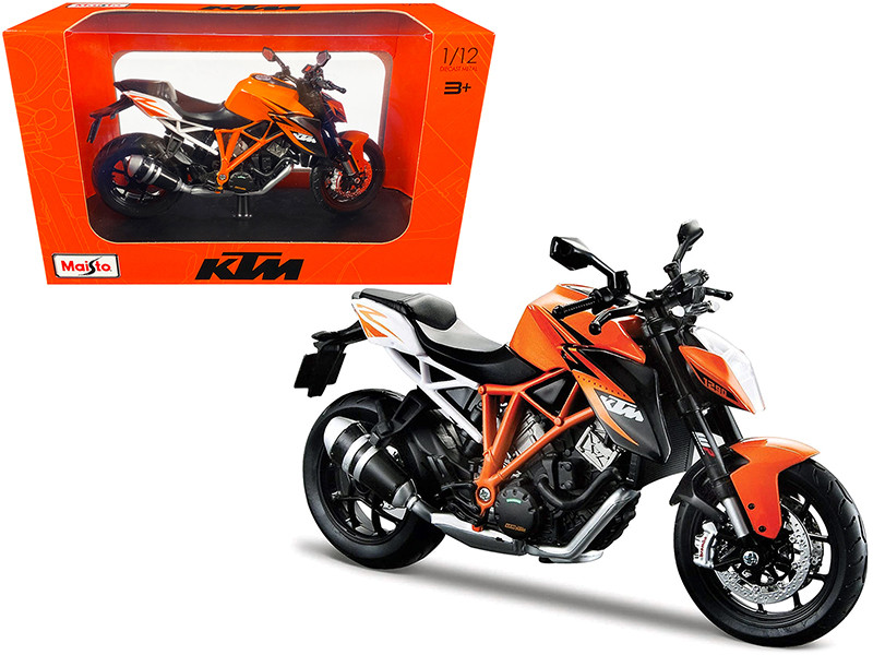 KTM 1290 Super Duke R Orange 1/12 Diecast Motorcycle Model Maisto 32710