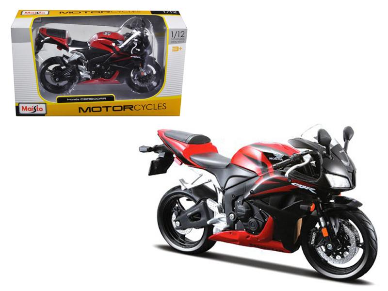 Honda CBR 600RR Red Black Motorcycle 1/12 Diecast Model Maisto 31154