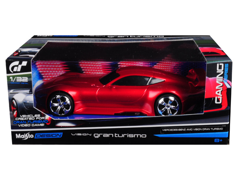 Mercedes AMG Vision Gran Turismo Red 1/32 Diecast Model Car by Maisto