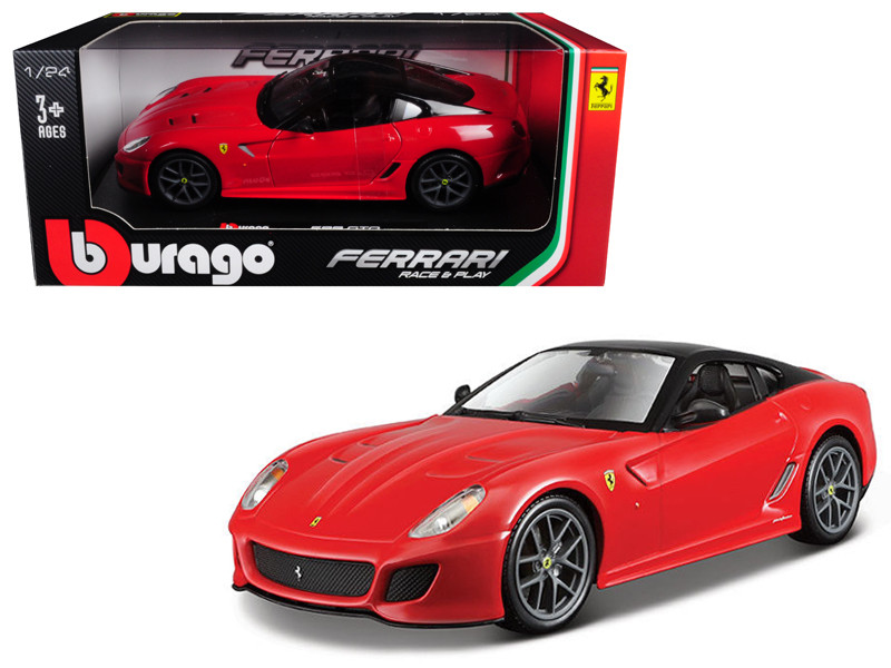 Ferrari 599 GTO Red 1/24 Diecast Model Car Bburago 26019
