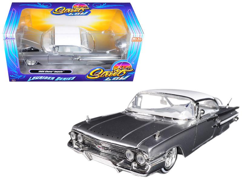 Jada 1//24 STREET LOW 1967 Chevrolet Impala Lowrider Series Diecast Black 98934
