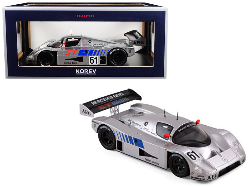 Sauber Mercedes Winner 400 km Suzuka 1989 Baldi/Schlesser Limited Edition to 1000 pieces Worldwide 1/18 Diecast Model Car by Norev