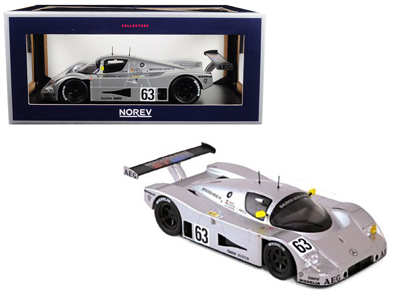 Sauber Mercedes #63 Winner France 1989 Maas Reuter Dickens 1/18 Diecast Model Car Norev 183442