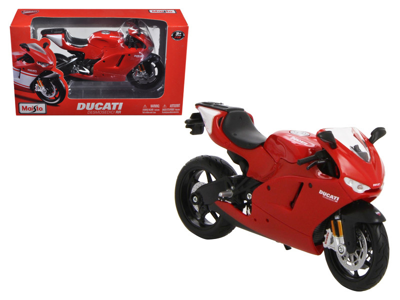 Ducati Desmosedici RR Red Motorcycle Red 1/12 Diecast Model Maisto 31190