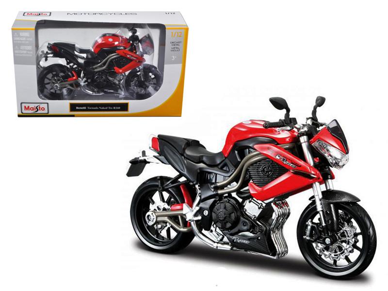 Benelli Tornado Naked Tre R160 Bike 1/12 Motorcycle Maisto 31195