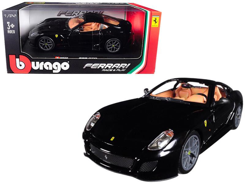 Ferrari 599 GTO Black 1/24 Diecast Model Car Bburago 26019