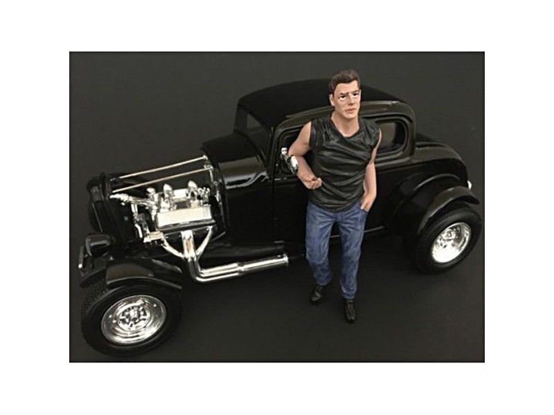 50's Style Figure III for 1:24 Scale Models American Diorama 38253