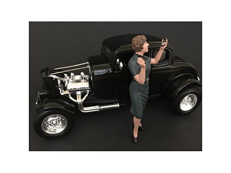 50's Style Figure IV for 1:24 Scale Models American Diorama 38254