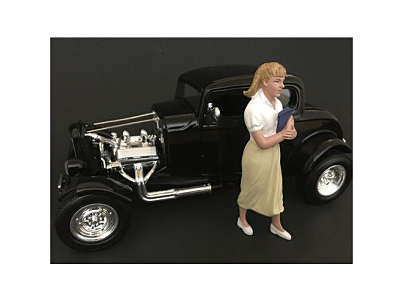 50's Style Figure VIII for 1:24 Scale Models American Diorama 38258