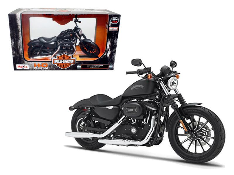 2014 Harley Davidson Sportster Iron 883 Motorcycle Model 1/12 Maisto 32326