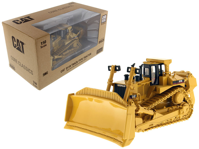 CAT Caterpillar D11R Track Type Tractor with operator 1/50 Diecast Model Diecast Masters 85025 C