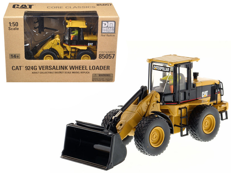 CAT Caterpillar 924G Versalink Wheel Loader with Work Tools with Operator \Core Classics Series\