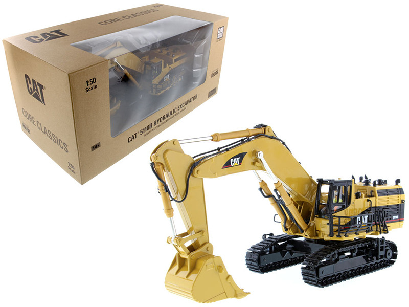 CAT Caterpillar 5110B Excavator Core Classics Series with Operator 1/50 Diecast Model Diecast Masters 85098