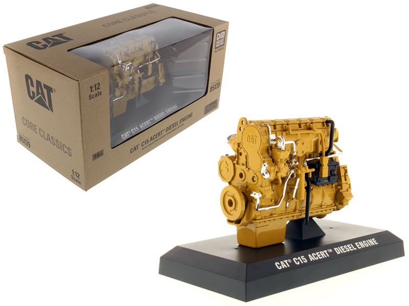 CAT Caterpillar C15 ACERT Diesel Engine Core Classics Series 1/12 Diecast Model Diecast Masters 85139