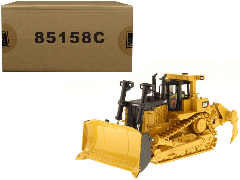 CAT Caterpillar D10T Track Type Tractor with Operator Core Classics Series 1/50 Diecast Model Diecast Masters 85158 C