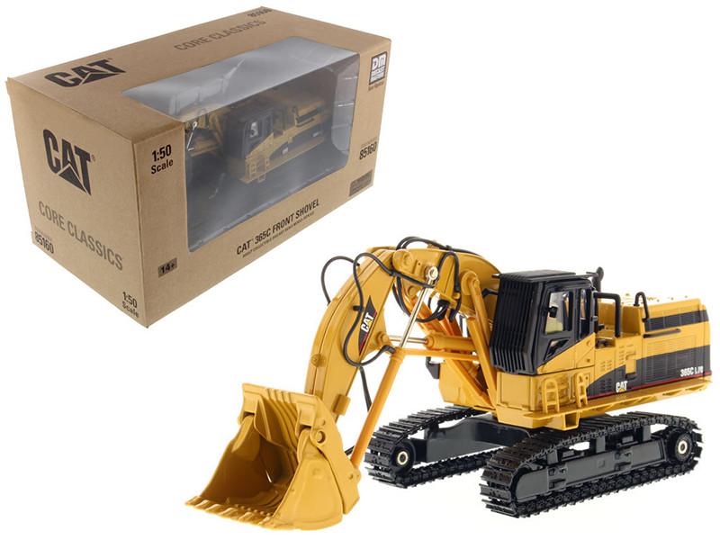 CAT Caterpillar 365C Front Shovel Core Classics Series with operator 1/50 Diecast Model Diecast Masters 85160 C