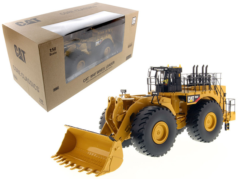 CAT Caterpillar 994F Wheel Loader with Operator Core Classics Series 1/50 Diecast Model Diecast Masters 85161