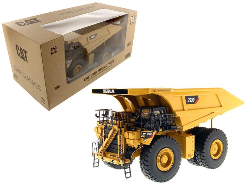 CAT Caterpillar 793D Mining Truck Core Classics Series with Operator 1/50 Diecast Model Diecast Masters 85174 C