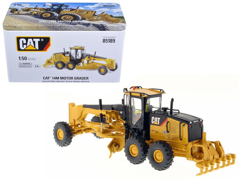 CAT Caterpillar 14M Motor Grader with Operator High Line Series 1/50 Diecast Model Diecast Masters 85189