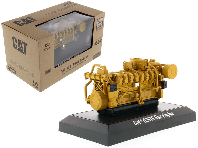 CAT Caterpillar G3516 Gas Engine Core Classics Series 1/25 Diecast Model Diecast Masters 85238