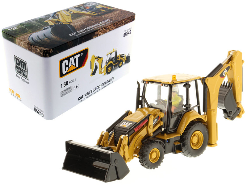 CAT Caterpillar 432F2 Backhoe Loader with Operator \High Line Series\