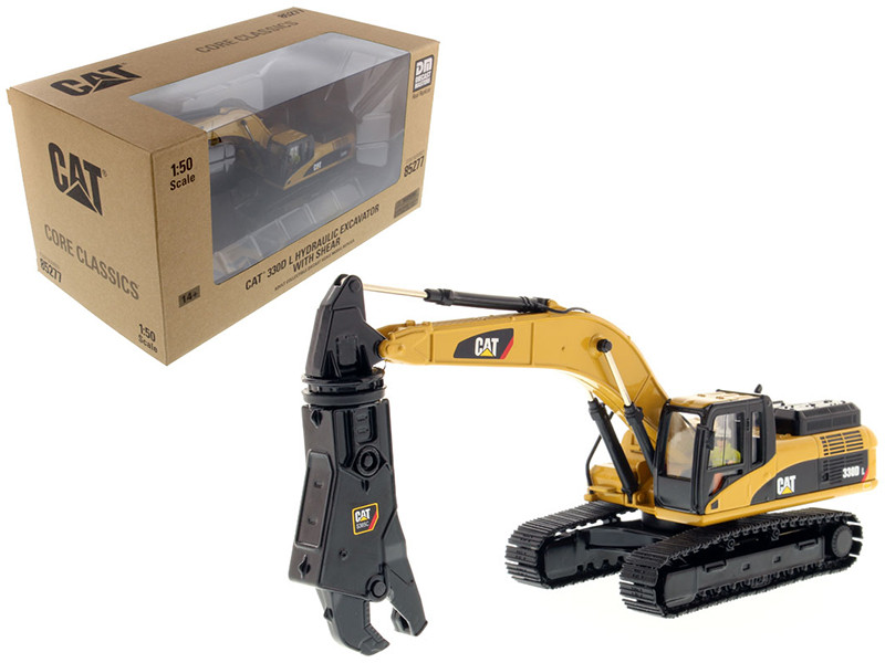 CAT Caterpillar 330D L Hydraulic Excavator with Shear and Operator \Core Classics Series\