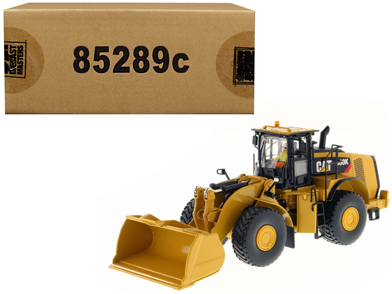 CAT Caterpillar 980K Wheel Loader Material Handling Configuration with Operator \Core Classics Series\