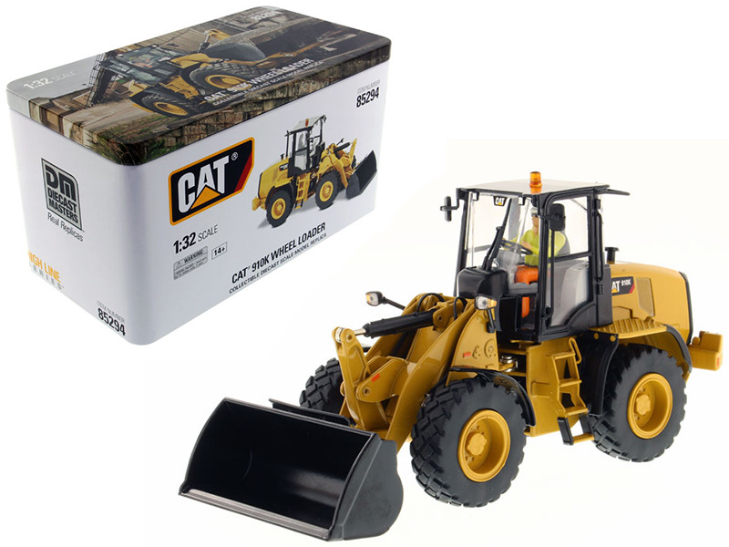 CAT Caterpillar 910K Wheel Loader High Line Series with Operator 1/32 Diecast Model Diecast Masters 85294